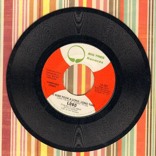 Lobo - It Sure Took A Long Time/Running Deer - NM9/ - 45 rpm Records