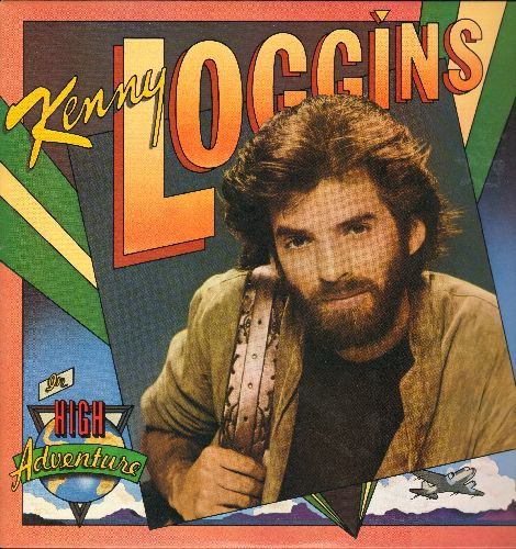 Loggins, Kenny - High Adventure: Don't Fight It, Heart To Heart, Only A Miracle, Swear Your Love (vinyl STEREO LP record) - NM9/NM9 - LP Records