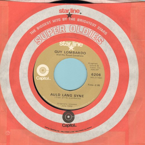 Lombardo, Guy & His Royal Canadians - Auld Lang Syne/Enjoy Yourself (re-issue) - M10/ - 45 rpm Records