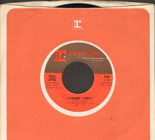 Lopez, Trini - La Bamba (parts 1 + 2) (MINT condition with vintage Reprise company sleeve) - M10/ - 45 rpm Records