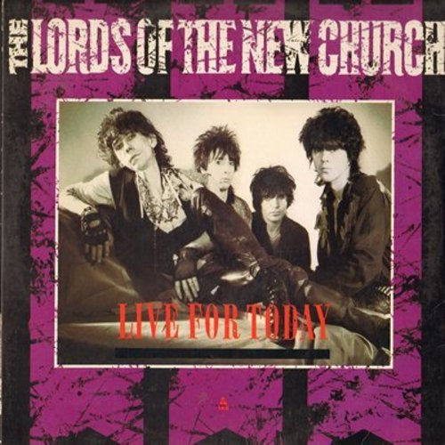 Lords Of The New Church - Live For Today/Opening Nightmare/Dreams And Desires (vinyl STEREO Maxi Single with picture cover) - M10/EX8 - LP Records