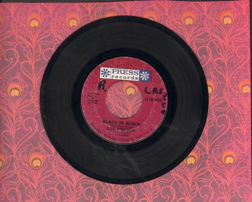 Los Bravos - Black Is Black (I Want My Baby Back)/I Want A Name (wol) - VG7/ - 45 rpm Records