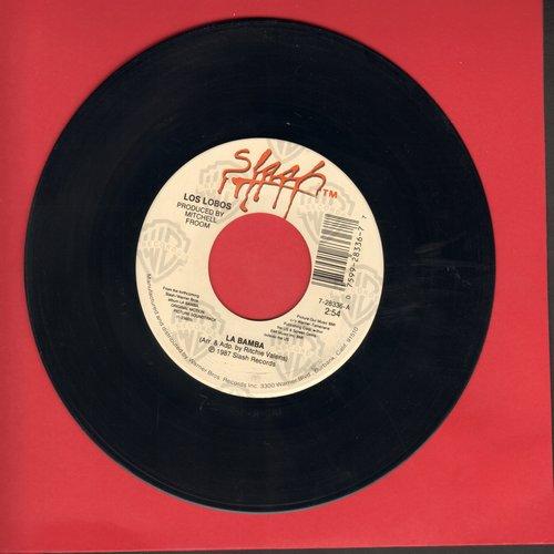 Los Lobos - La Bamba/Charlena (wol/sol) - VG6/ - 45 rpm Records