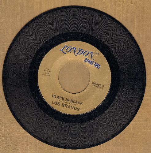 Los Bravos - Black Is Black (I Want My Baby Back)/Bring A Little Loving (double-hit re-issue) - NM9/ - 45 rpm Records