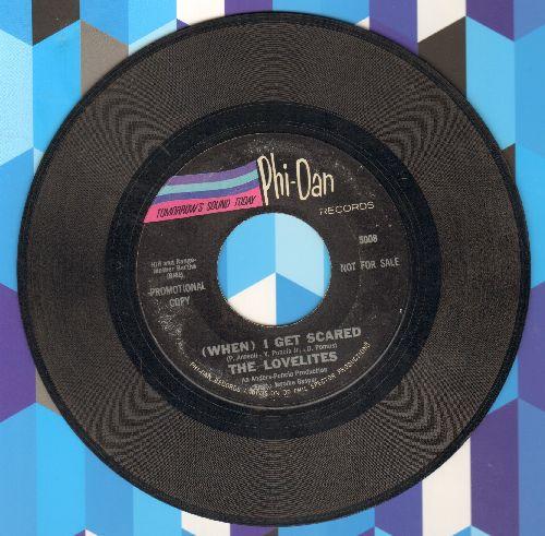 Lovelites - (When) I get Scared (DEFINITIVE Vintage R&B Girl Sound!)/Malady (Instrumental) - VG7/ - 45 rpm Records