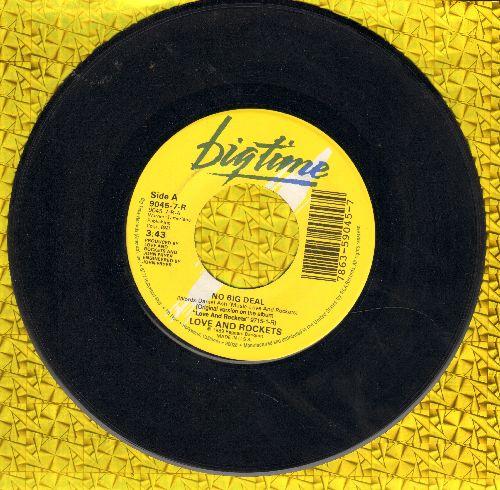 Love And Rockets - No Big Deal/No Words No More  - NM9/ - 45 rpm Records