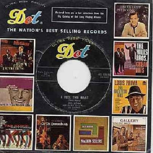 Lowe, Jim - I Feel The Beat/By You, By You, By You (with Dot company sleeve) - VG7/ - 45 rpm Records