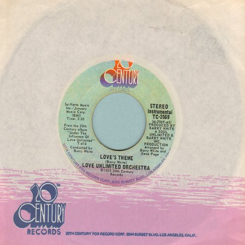 Love Unlimited Orchestra - Love's Theme/Sweet Moments  - EX8/ - 45 rpm Records