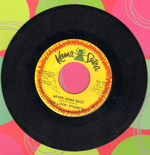 Lovin' Spoonful - Never Going Back/Forever (minor wol) - EX8/ - 45 rpm Records