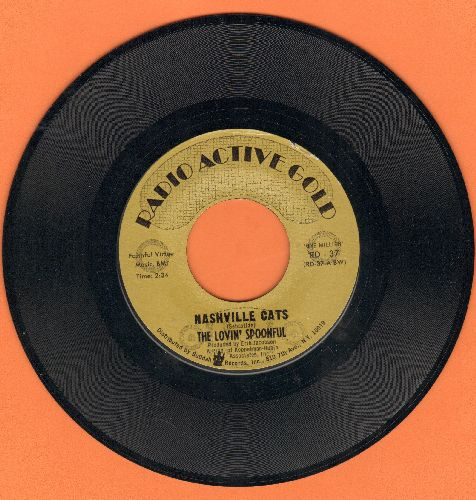 Lovin' Spoonful - Night Owl Blues/Nashville Cats (double-hit re-issue) - NM9/ - 45 rpm Records