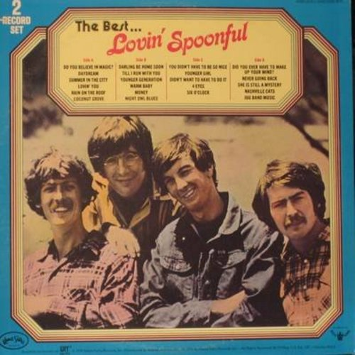 Lovin' Spoonful - The Best…Lovin' Spoonful: Daydream, Summer In The City, You Didn't Have To Be So Nice, Do You Believe In Magic? (2 vinyl STEREO LP record set) - NM9/EX8 - LP Records