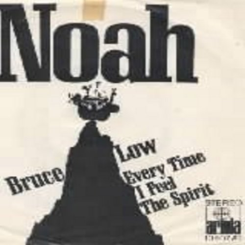 Low, Bruce - Noah/Everytime I Feel The Spirit (with picture sleeve, German Pressing sung in German and English) - NM9/VG7 - 45 rpm Records