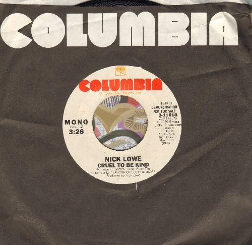 Lowe, Nick - Cruel To Be Kind/Endless Grey Ribbon - EX8/ - 45 rpm Records