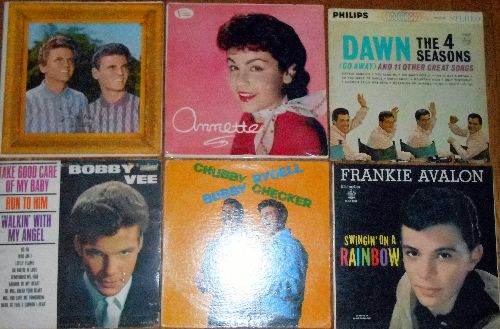 LP Cover 6-Pack - Set #4 includes 6 Vintage LP covers (NO records!) - Exactly as pictured, great for decoration or as replacement covers.  - VG7/ - Supplies