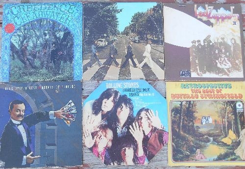 LP Cover 6-Pack - Set #23 includes 6 Vintage LP covers (NO records!) - Exactly as pictured, great for decoration or as replacement covers.  - VG7/ - Supplies