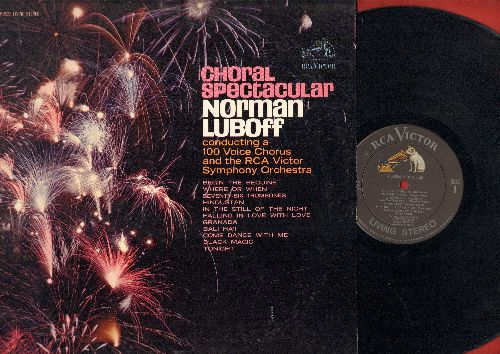 Luboff, Norman Chorus & Symphony Orchestra - Choral Spectacular: Bali Ha'I, Begin The Beguine, Where Or When, Seventy-Six Trombones (vinyl STEREO LP record) - EX8/EX8 - LP Records
