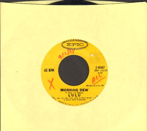Lulu - Morning Dew/You And I (wol) - VG7/ - 45 rpm Records
