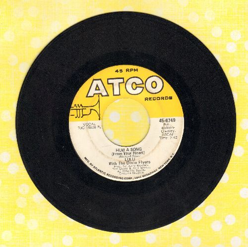 Lulu - Hum A Song (From Your Heart)/Where's Eddie  - VG7/ - 45 rpm Records