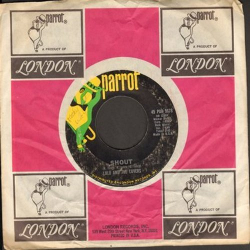 Lulu And The Luvers - Shout/Forget Me Baby (RARE early pressing with company sleeve) - VG7/ - 45 rpm Records