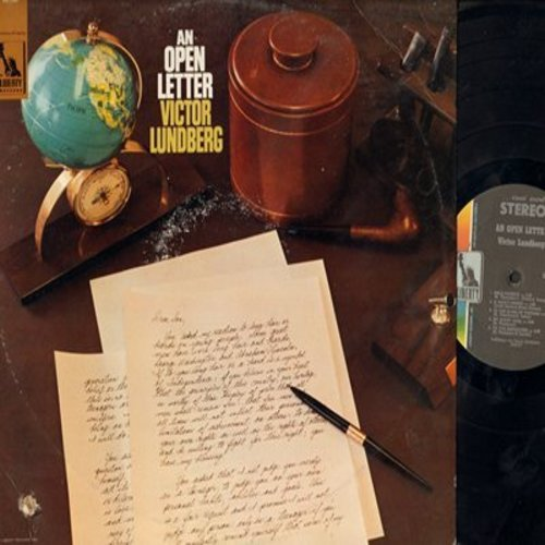 Lundberg, Victor - An Open Letter: Dear Neighbor, To My Teenage Son, Dear Parents, My Buddy Carl, To The Flower Power (vinyl STEREO LP record) (bb) - M10/EX8 - LP Records