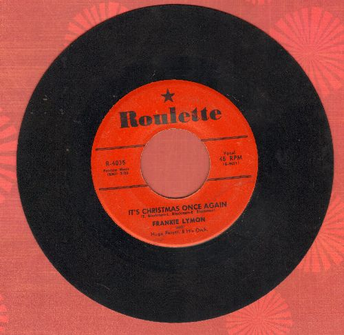 Lymon, Frankie - It's Christmas Once Again/Little Girl - VG7/ - 78 rpm