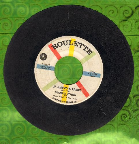 Lymon, Frankie - Up Jumped A Rabbit/No Matter What You've Done - VG7/ - 45 rpm Records