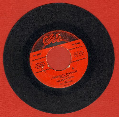 Lymon, Frankie - I Promise To Remember/Who Can Explain? - VG6/ - 45 rpm Records