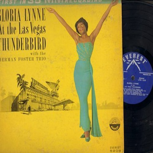 Lynne, Gloria - At The Las Vegas Thunderbird: So This Is Love, What Kind Of Fool Am I, I'll Buy You A Star (vinyl MONO LP record) - VG7/VG7 - LP Records