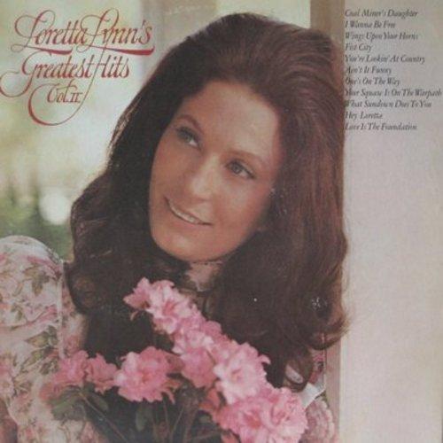 Lynn, Loretta - Loretta Lynn's Greatest Hits Vol. II: Coal Miner's Daughter, One's On The Way, Hey Loretta (vinyl LP record) - NM9/EX8 - LP Records
