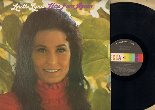 Lynn, Loretta - Here I Am Again: My Kind Of Man, Delta Dawn, I Miss You More Today, Love Takes A Long Time Dyin' (vinyl STEREO LP record) - EX8/EX8 - LP Records