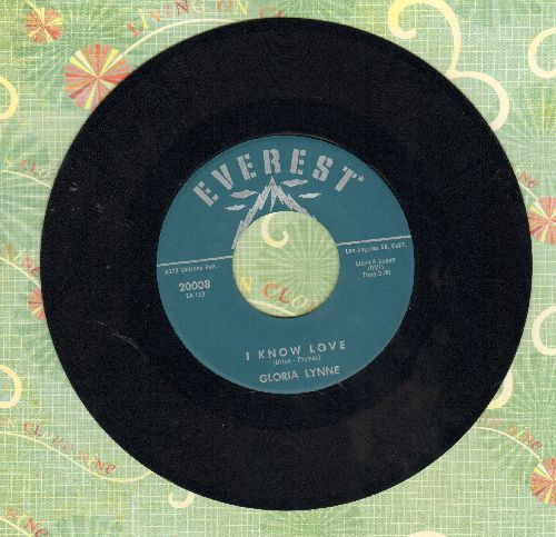 Lynne, Gloria - I Know Love/It Just Happened To Me (MINT condition) - M10/ - 45 rpm Records