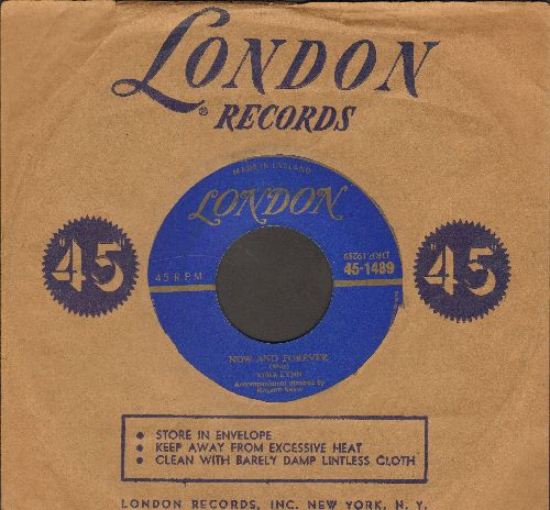 Lynn, Vera - Now And Forever/Try Again (British Pressing with vintage London company sleeve) - VG6/ - 45 rpm Records