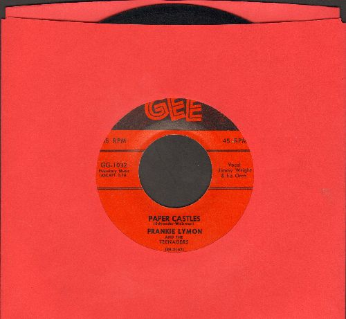 Lymon, Frankie & The Teenagers - Paper Castles/Teenage Love - EX8/ - 45 rpm Records