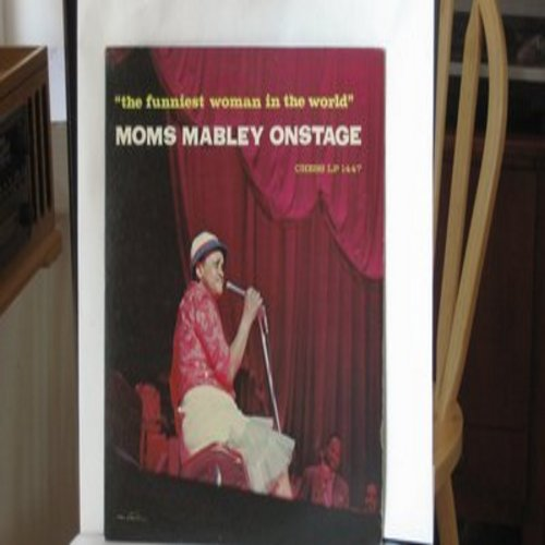 Mabley, Moms - Moms Mabley On Stage - The Funniest Woman In The World (vinyl MONO LP record) - EX8/EX8 - LP Records