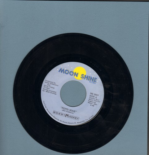 Mackey, Bobby - Pepsi Man/What A Difference - NM9/ - 45 rpm Records