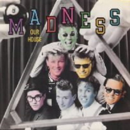 Madness - Our House/Cardiac Arrest (with picture sleeve) - NM9/VG7 - 45 rpm Records