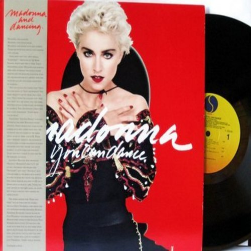 Madonna - You Can Dance: Holiday, Into The Groove, Everybody, Where's The Party (vinyl LP record) - NM9/NM9 - LP Records