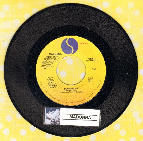 Madonna - Borderline/Think Of Me (MINT condition) - M10/ - 45 rpm Records