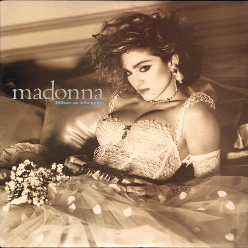 Madonna - Like A Virgin: Material Girl, Angel, Dress You Up, Pretender (vinyl STEREO LP record, NICE condition!) - NM9/NM9 - LP Records
