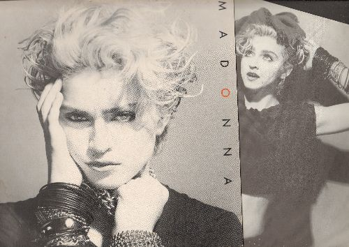 Madonna - Madonna: Lucky Star, Borderline, Holiday, Everybody (vinyl LP record with Original Inner Sleeve!) - NM9/EX8 - LP Records