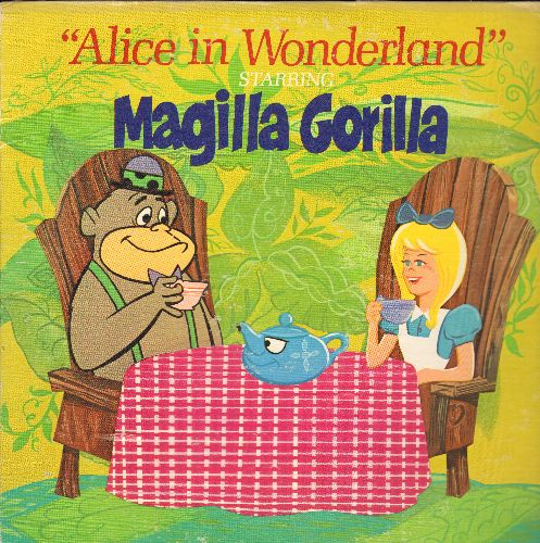 Hanna Barbera - Alice In Wonderland Starring Magilla Gorilla (vinyl STEREO LP record) - EX8/VG7 - LP Records