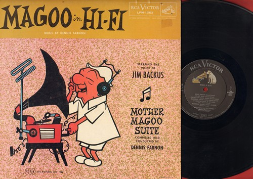 Backus, Jim - Magoo in Hi-Fi - Starring the Voice of Jim Backus - Mother Magoo Suite composed and conducted by Dennis Farnon (vinyl MONO LP record) - EX8/EX8 - LP Records