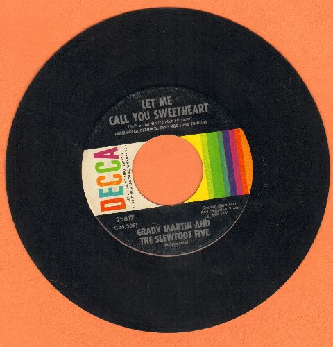 Martin, Grady & The Slewfoot Five - Let Me Call You Sweetheart/Beautiful Brown Eyes - EX8/ - 45 rpm Records