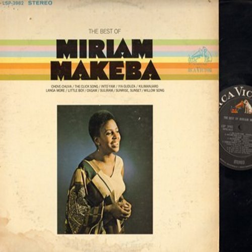 Makeba, Miriam - The Best Of: Kilimanjaro, Sunrise Sunset, Little Boy, Willow Song (vinyl STEREO LP record) - NM9/VG7 - LP Records