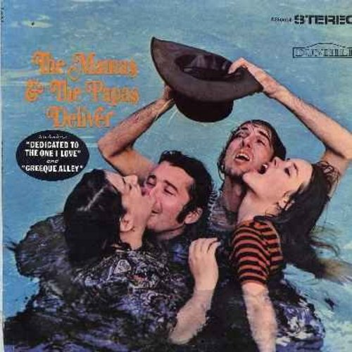 Mamas & Papas - The Mamas & The Papas Deliver: Dedicated To The One I Love, Creeque Alley, Twist And Shout, Look Through My Window (STEREO LP record) - EX8/VG7 - LP Records