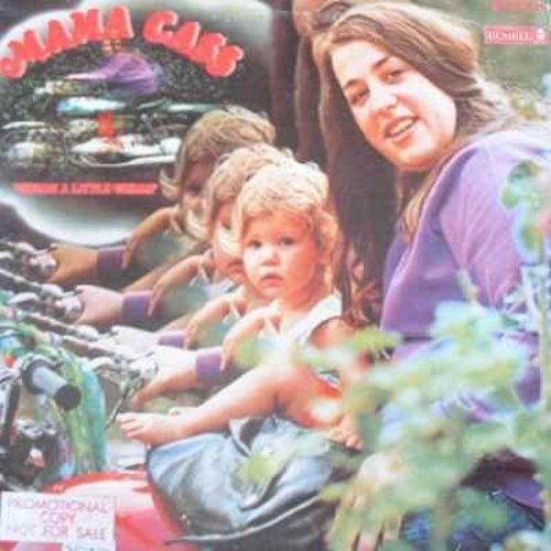 Mama Cass - Dream A Little Dream: Long Time Loving You, California Earthquake, Blues For Breakfast, Sweet Believer, Burn Your Hatred (vinyl STEREO LP record) - EX8/VG7 - LP Records