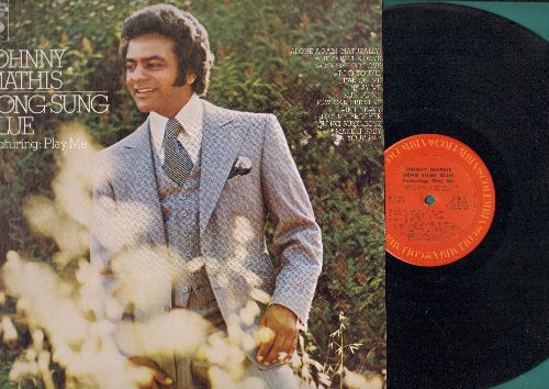 Mathis, Johnny - Song Sung Blue: Alone Again (Naturally), Lean On Me, Make It Easy On Yourself (vinyl STEREO LP record) - NM9/NM9 - LP Records