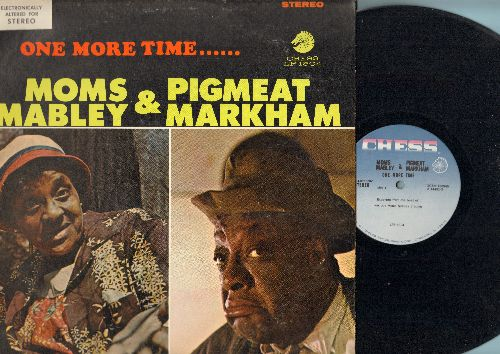 Mabley, Moms & Pigmeat Markham - One More Time…Moms Mabley & Pigmeat Markham (vinyl STEREO LP record) - EX8/EX8 - LP Records
