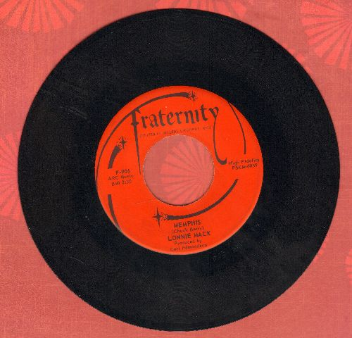 Mack, Lonnie - Memphis/Down In The Dumps (MINT condition!) - M10/ - 45 rpm Records