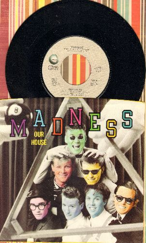 Madness - Our House/Cardiac Arrest (MINT condition with picture sleeve) - M10/NM9 - 45 rpm Records
